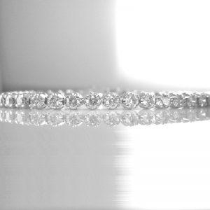 Diamond Tennis Bracelet - 5.03 cts