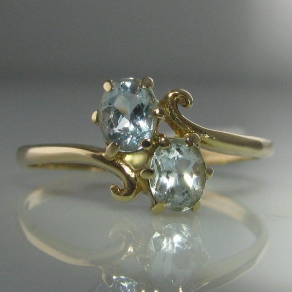 Ice Blue Gemstone Ring