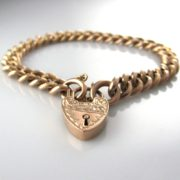 An Antique Rose Gold Bracelet