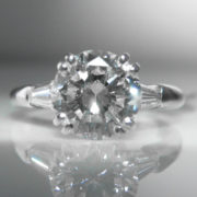 1.89ct French Diamond Ring