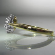 Diamond Cluster Ring in 18k Gold