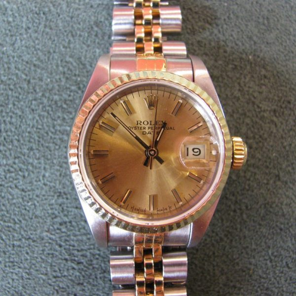 Ladies Rolex DateJust 69173 - 18k Gold and Stainless Steel