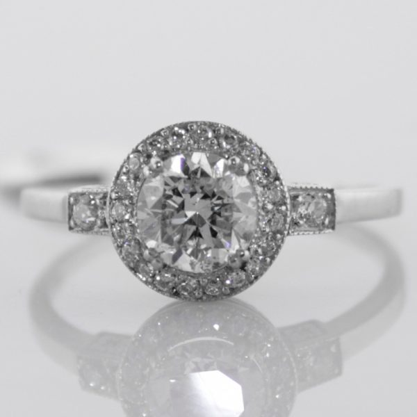 Diamond Ring in Platinum