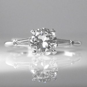 GIA Certified Diamond Solitaire Ring