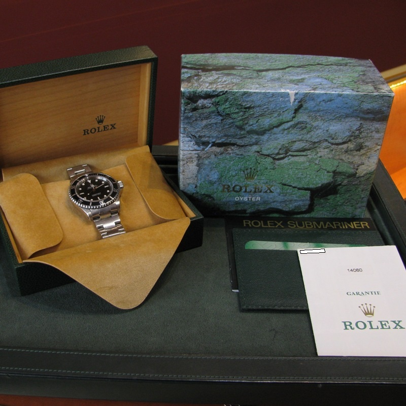 Gents Rolex Submariner Stainless Steel with Box and Papers