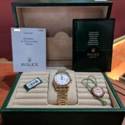 Rolex President Day Date in 18k Gold - 2006 with Box and Papers