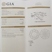 2 Carat Diamond GIA Certified I VS2