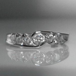 Seven Stone Diamond Ring, diamond ring, jewellers, jewellery shop, Galway, fine jewellery, diamond jewellery