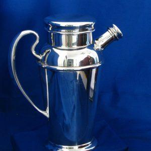 Silver Vintage Cocktail/ Martini Shaker