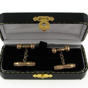 Gents 9k Gold Cufflinks