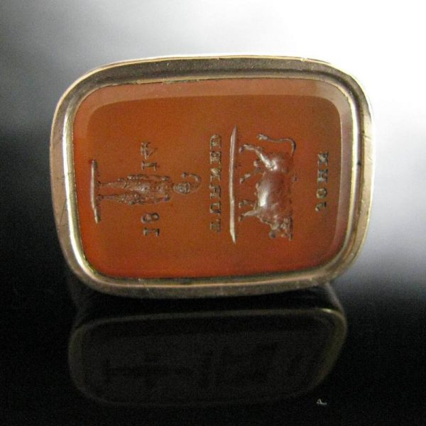 John Turner 1814 Antique Seal Fob, The Antiques Room, Jewellery, Antiques, Galway, West of Ireland