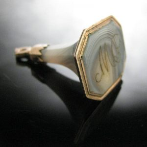 Agate Fob, The Antiques Room, Jewellery, Antiques, Galway, West of Ireland