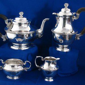 Irish Silver Tea & Coffee Service