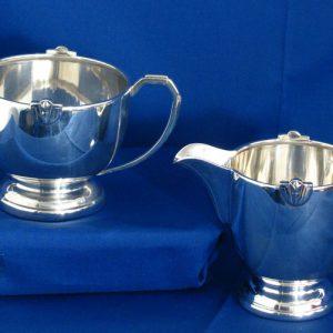 Silver Cream Jug/Sugar Bowl Set