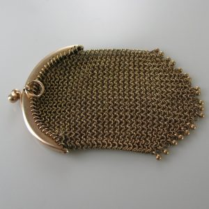 Vintage Gold Mesh Purse, Vintage Purse, The Antiques Room, Galway, West of Ireland