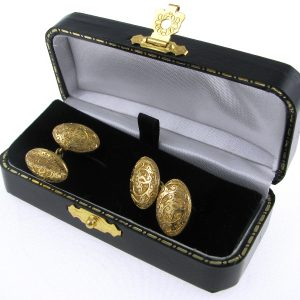Gold Cufflinks, Cufflinks, Antiques, For Him, Fine Jewellery, jewellery shop, Galway