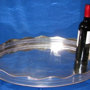 Large Serving Gallery Tray
