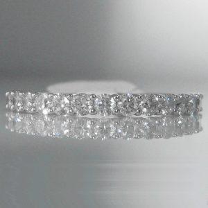 Diamond Eternity Ring in Platinum