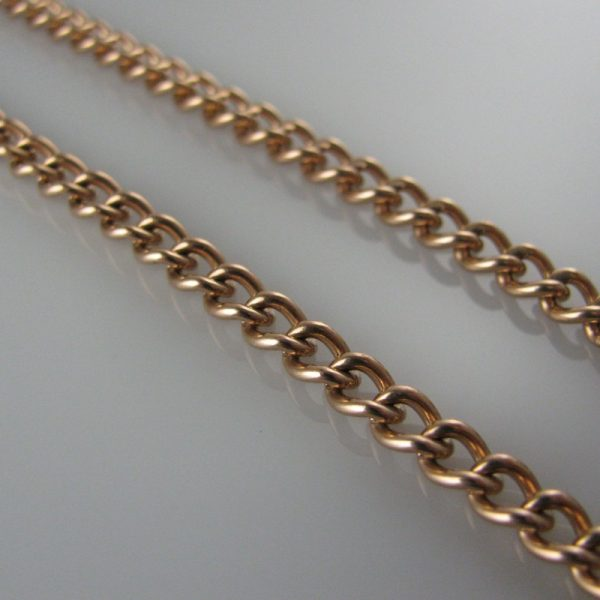 Curb Link 9k Rose Gold Chain, Gold Chain, Necklace, Fine Jewellery, Jewellery Shop, Jewellers, Galway, West of Ireland