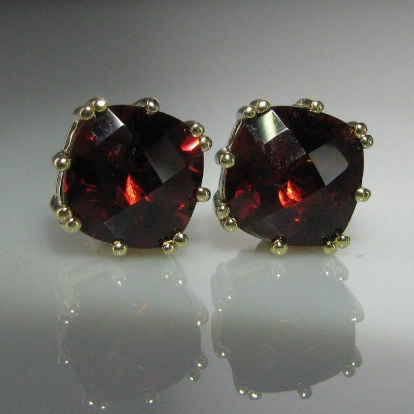 Garnet Earrings, Fine Jewellery, Jewellery Shop, Jewellers, Galway