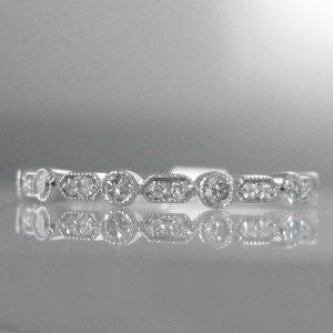 Diamond Set Eternity & Wedding Bands