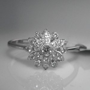 Diamond Engagement Ring, Engagement Ring, The Antiques Room, Jewellery, Galway