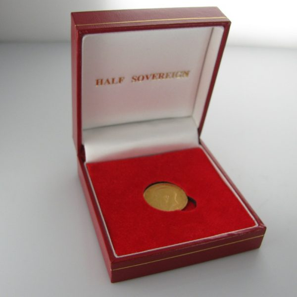 Half Sovereign, Gold Coin, The Antiques Room