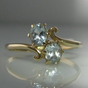 Ice Blue Gemstone Ring