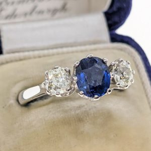 The Antiques Room | Diamond Engagement Rings, Antique